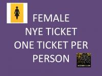 FEMALE TICKETS ONLY  New Years Eve 31st December 19 Tylney Hall Leatherhead
