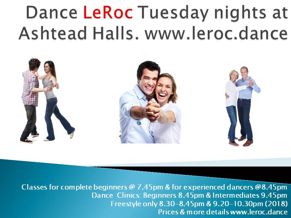 Dance Tuesday nights Ashtead Oct 18