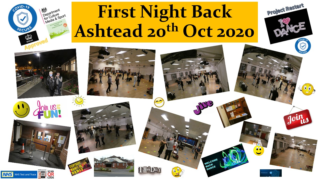 First Night Back 20th oct 2020
